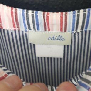 Odille Dresses - Anthropologie odille pinstripe dress size 2